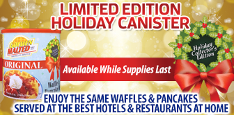 Limited Edition Holiday Collector's Canister