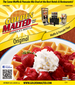 Golden Malted Original Waffle Mix