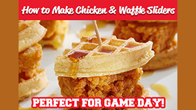 make chicken and waffles