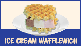 make ice cream wafflewich
