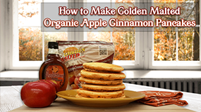 make org apple cinn pancakes