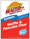 Carbon's Golden Malted Blueberry Waffle and Pancake Mix