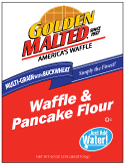 Carbon's Golden Malted Multi Grain with Buckwheat Waffle and Pancake Mix