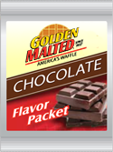 Carbon's Golden Malted Chocolate Flavor PAck