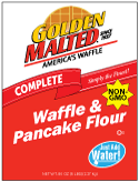 Carbon's Golden Malted Just Add Water Waffle and Pancake Mix Non-GMO