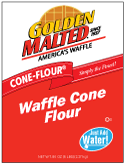 Carbon's Golden Malted Just Add Watter Waffle Cone Mix