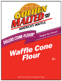 Carbon's Golden Malted Waffle Cone Mix