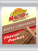 Carbon's Golden Malted Maple Cinnamon Flavor Pack