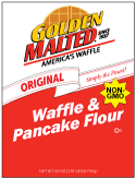 Carbon's Golden Malted Original Waffle and Pancake Mix Non-GMO