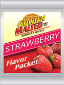 Carbon's Golden Malted Strawberry Flavor Pack