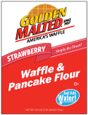Carbon's Golden Malted Strawberry Waffle and Pancake Mix