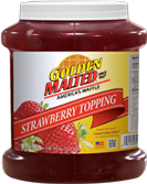 Carbon's Golden Malted Strawberry Topping