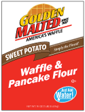 Carbon's Golden Malted Sweet Potato Waffle and Pancake Mix