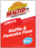 Carbon's Golden Malted Just Add Water Waffle and Pancake Mix