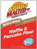 Carbon's Golden Malted Whole Wheat Waffle and Pancake Mix